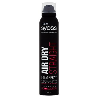 Syoss Air Dry penový sprej Straight 200 ml