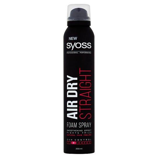 Syoss Air Dry penový sprej Straight 200 ml