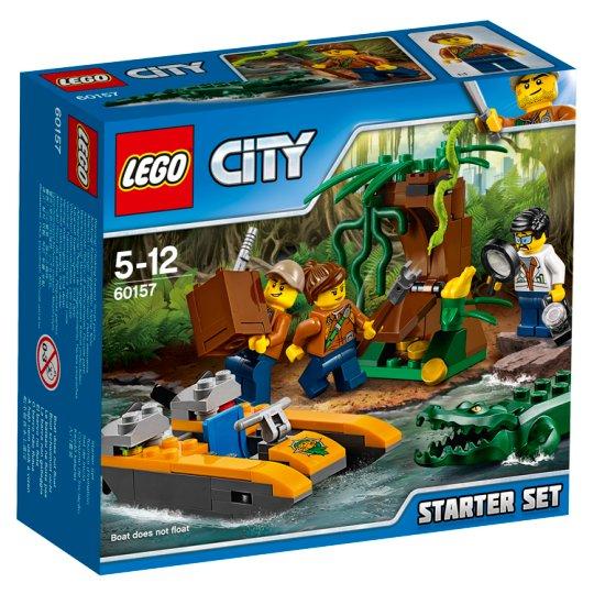 LEGO City Džungľa - začiatočnícka súprava 60157