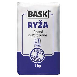 Bask Round Grain Peeled Rice 1 kg