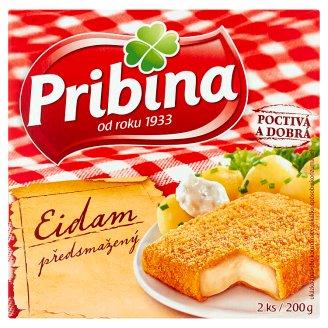 Pribina Eidam predsmažený syr 2 ks 200 g