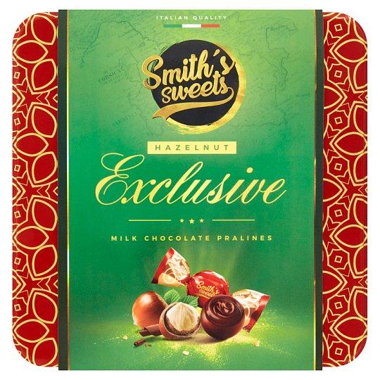 Smith's Sweets Exclusive Hazelnut zmes praliniek z mliečnej čokolády s krémovou náplňou 200 g