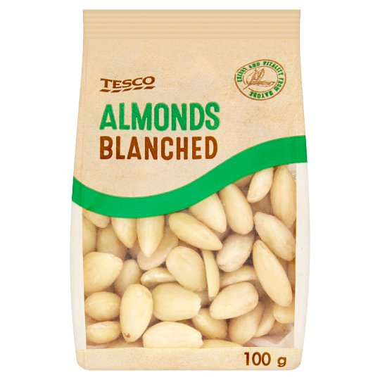 Tesco Almonds Blanched 100 g