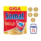 Somat Gold Tablets for Automatic Dishwashing 72 Tablets 1382.4 g