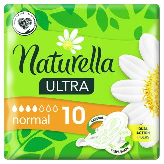 Naturella Ultra Normal Camomile Vložky 10 ks.