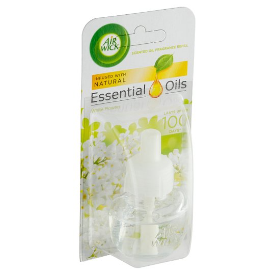Air Wick Essential Oils Liquid Electrical Plug In Refill Ivory Freesia Bloom 19 ml