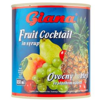 Giana Ovocný koktail v sladkom náleve 820 g