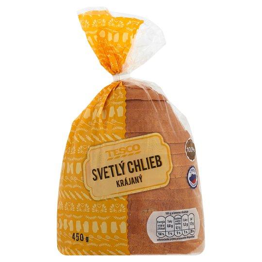 Tesco Svetlý chlieb krájaný 450 g