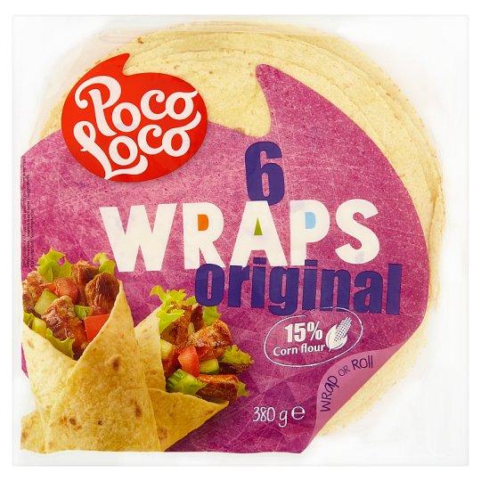 Poco Loco 6 Wraps Original 380 g