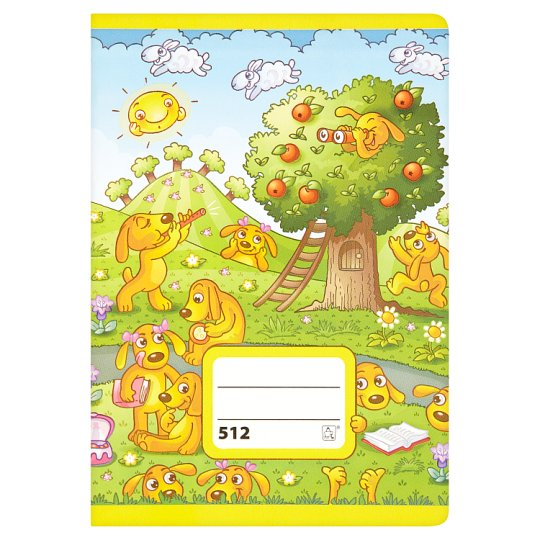 Papírny Brno 512 School Exercise Lined Book A5 10 Sheets