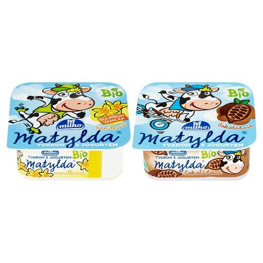 Milko Matylda Dessert with Bio Curd and Bio Yoghurt 100 g