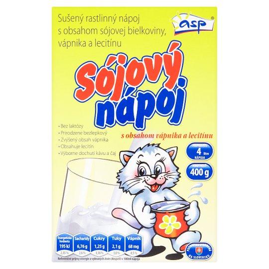 ASP Sójový nápoj s obsahom vápnika a lecitínu 400 g