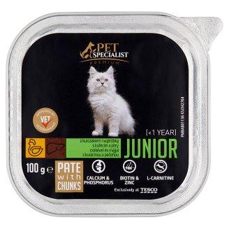 Tesco Pet Specialist Premium Junior paštéta s kuracinou a pečeňou 100 g