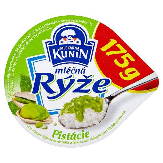 Mlékárna Kunín Mliečna ryža pistáciová 175 g