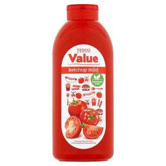 Tesco Value Kečup jemný 1 kg