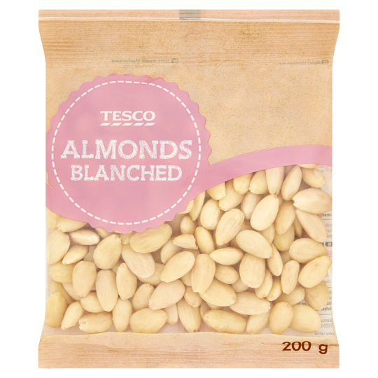Tesco Almonds Blanched 200 g