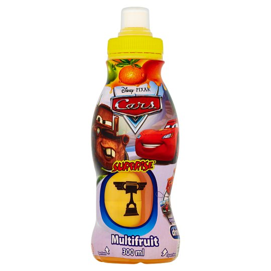 Surprise Drinks Cars nesýtený ovocný nápoj 300 ml
