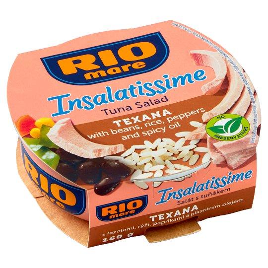 Rio Mare Insalatissime Hotový pokrm zo zeleniny a tuniaka 160 g