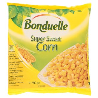 "Bonduelle Sweet Corn ,,Super Sweet"" Deep Frozen 400 g"