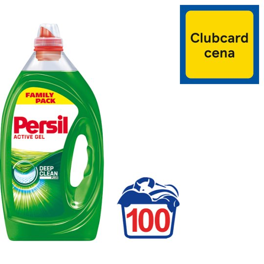 Persil 360° Complete Clean Power Gel Washing Detergent 100 Washes 5 L