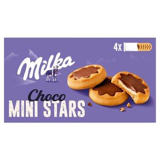 Milka Choco Minis plnené sušienky s mliečnou náplňou polomáčané v mliečnej čokoláde 150 g