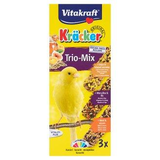 Vitakraft Kräcker Trio-Mix zmiešané krmivo pre kanáriky 80 g