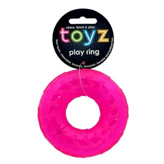 Petface Toyz Play Ring Pink