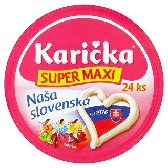 Karička Klasik super maxi roztierateľný tavený syr 24 ks 360 g