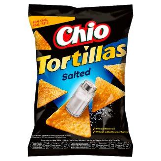 Chio Tortillas kukuričný snack solený 125 g