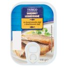Tesco Smoked Sardines in Sunflower Oil 110 g