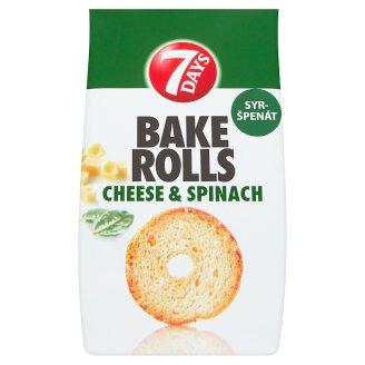7 Days Bake Rolls syr-špenát 80 g