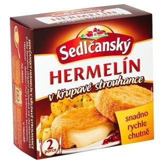 Sedlčanský Hermelín obaľovaný predsmažený syr 2 ks 200 g