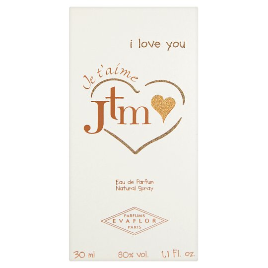 Evaflor Jtm I Love You Deodorant Natural Spray 30 ml