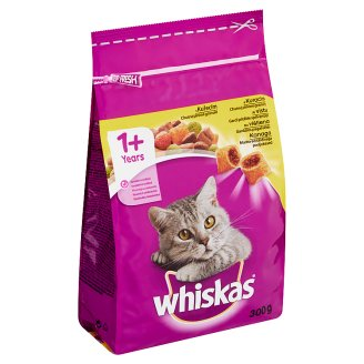 Whiskas 1+ Tasty Granules Filled with Chicken 300 g