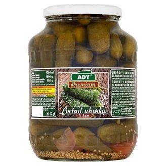 Ady Premium Coctail uhorky 3-6 cm 1600 g
