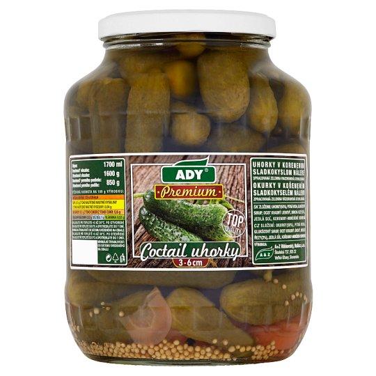 Ady Premium Coctail Cucumbers 3-6 cm 1600 g