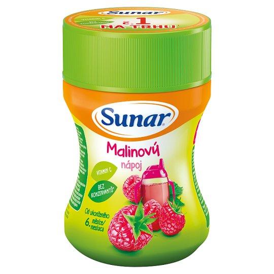 Sunárek Detský rozpustný nápoj malinový v prášku 200 g