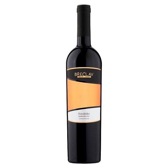 Rodinné Vinařství Břeclav Dornfelder červené víno polosladké 0,75 l