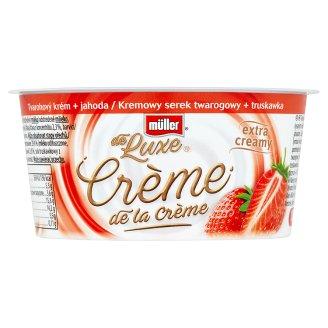 Müller de Luxe Crème de la Crème tvarohový krém + jahoda 135 g