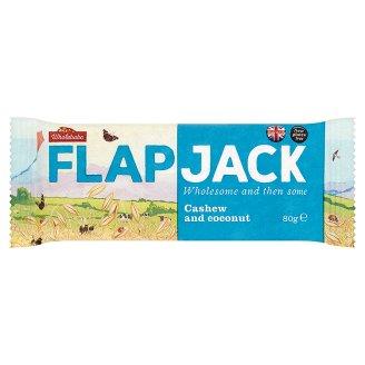 Wholebake Flapjack Cashew and Coconut 80 g