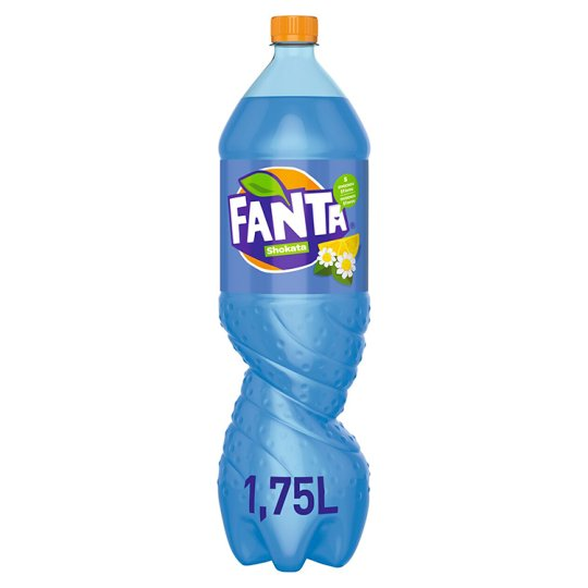Fanta Shokata, Lemonade Flavoured with Lemon and Elder, 1.75 L
