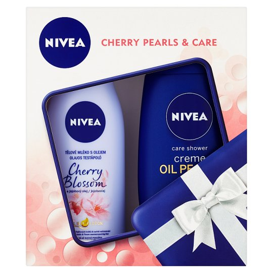 Nivea Cherry Pearls & Care Gift Set