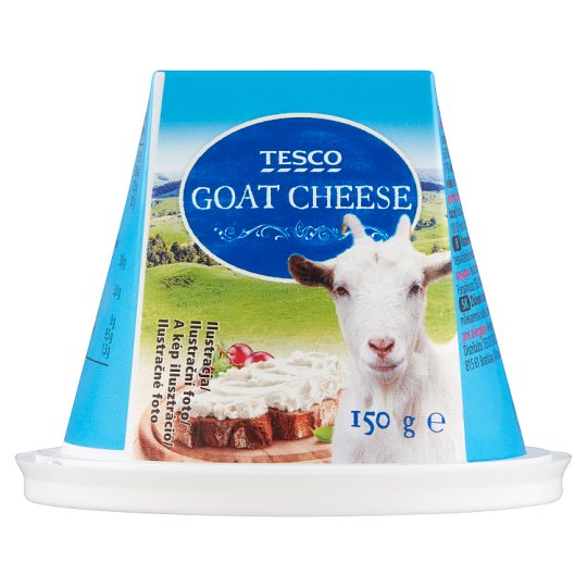 Tesco Mäkký čerstvý polotučný roztierateľný kozí syr 150 g