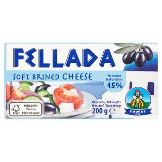 Lowicz Fellada 45% mäkký polotučný syr slaný 200 g
