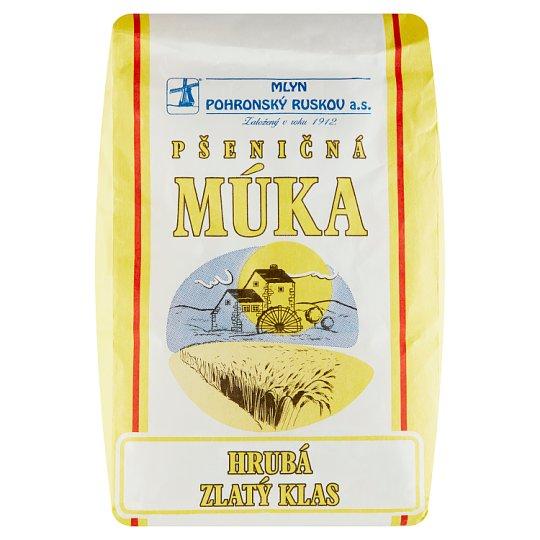 Mlyn Pohronský Ruskov Wheat Flour Thick Gold Ear 1 kg