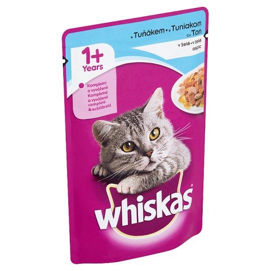 Whiskas S tuniakom v želé 100 g