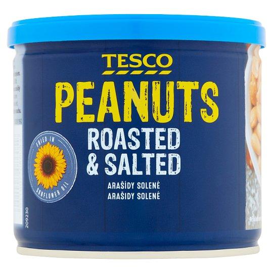 Tesco Pražené solené lúpané arašidy 150 g