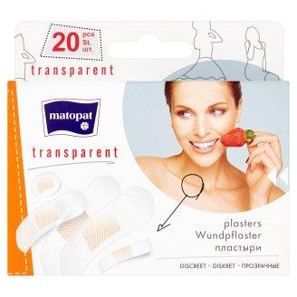 Matopat Transparent Plasters 20 pcs