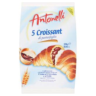 Antonelli Croissant plnený kakaovým a mliečnym krémom 5 x 50 g
