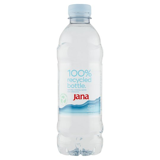 Jana Natural Mineral Water Non Carbonated 0.5 L